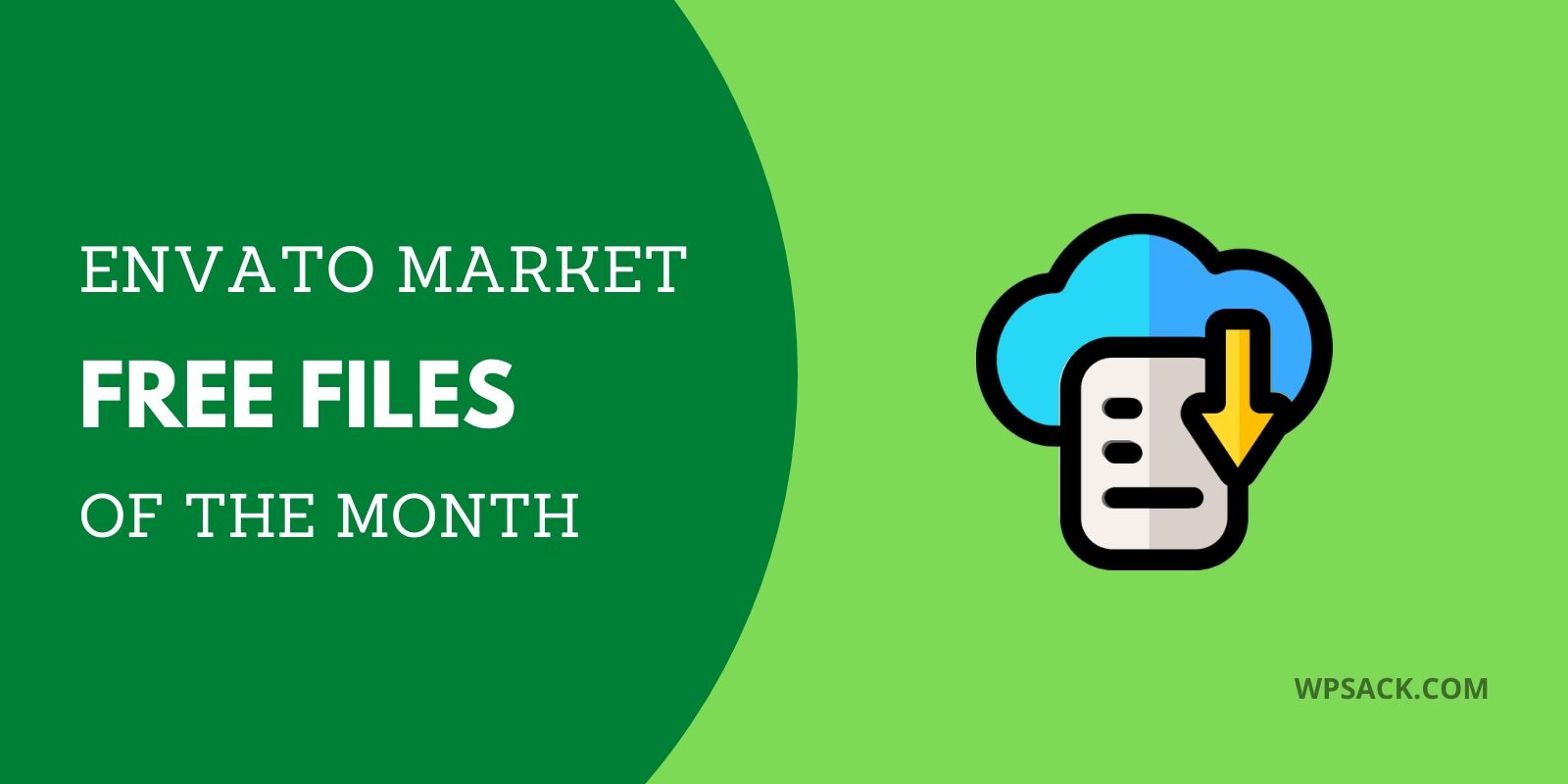 Free Envato Files of the month