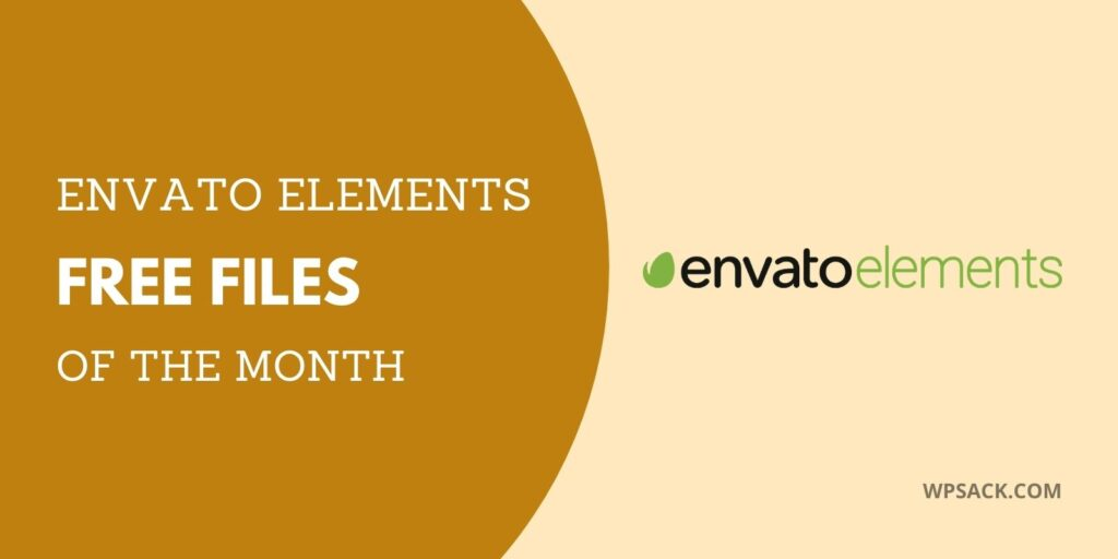 Download Free Envato Elements Of January 2021 Wpsack